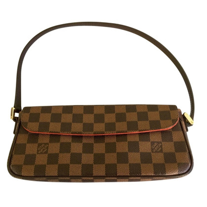 Louis Vuitton Handbag Damier Ebene Canvas