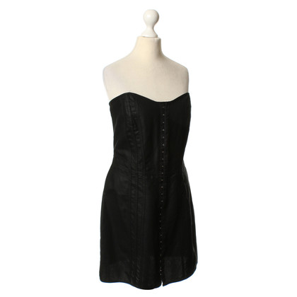 Burberry Bandeau-Kleid in Schwarz