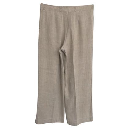 Céline High Waist trousers in beige