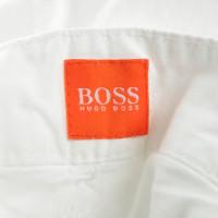 Hugo Boss Cotton dress in white