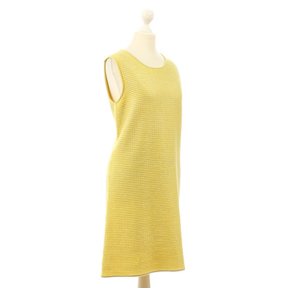 B Private Vestito giallo in cashmere e seta