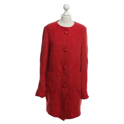 Other Designer Georges Rech - wool coat with scarf