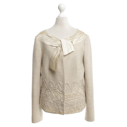 Philosophy di Alberta Ferretti Playful blazer in beige