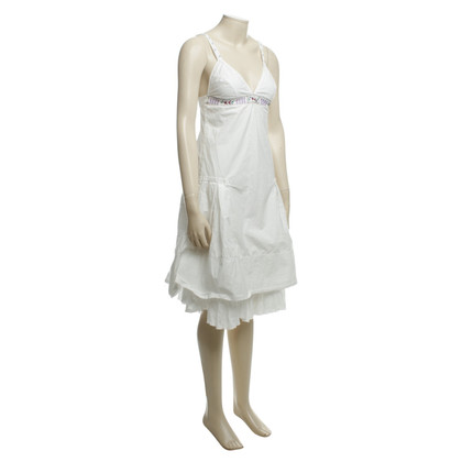 Hugo Boss Cotton dress in white