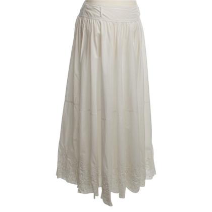 Pauw Lange rok in wit