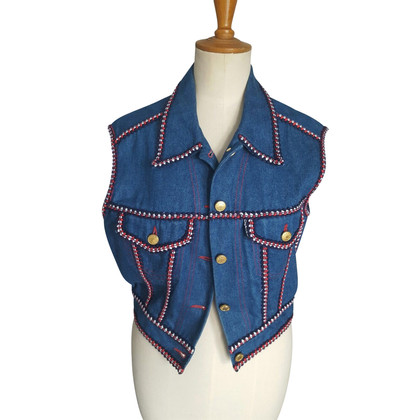 Chanel Vintage denim vest