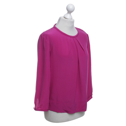 Iro Blouse in fuchsia