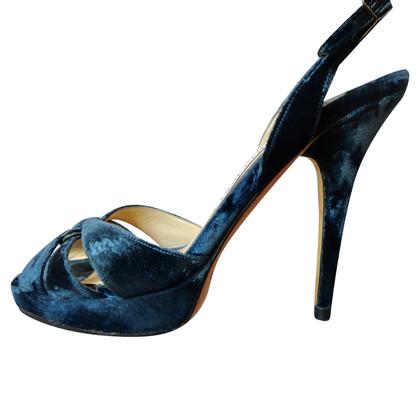 Jimmy Choo Velvet sandals