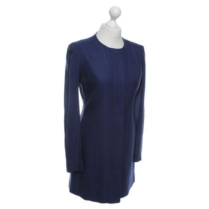 Versace Manteau en bleu