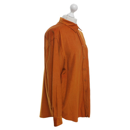 Max Mara Cord blouse in Orange