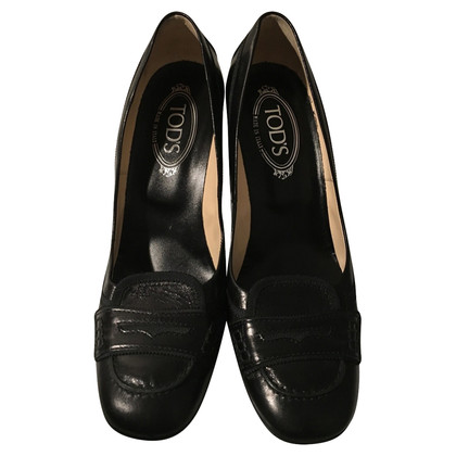 Tod's pumps in nero
