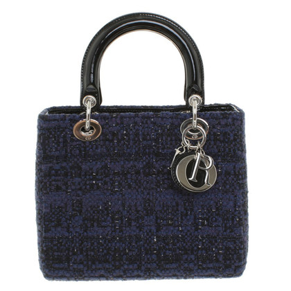 "Christian Dior ""Lady Dior"" van boucle"