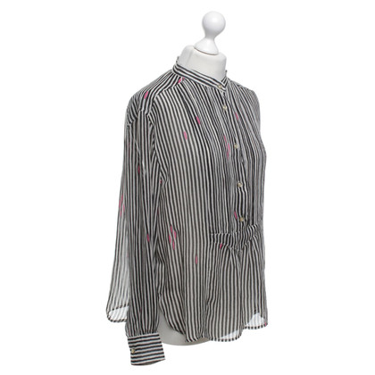 Isabel Marant Etoile Blouse with striped pattern