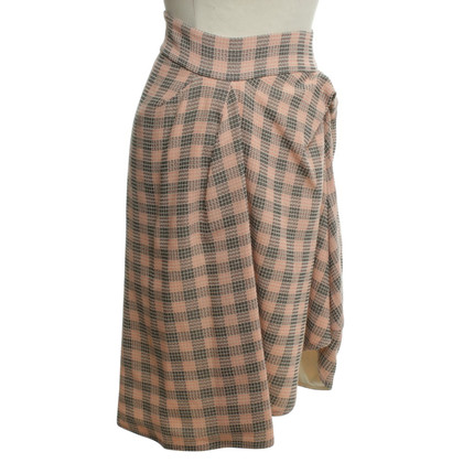 Marni skirt with checked pattern