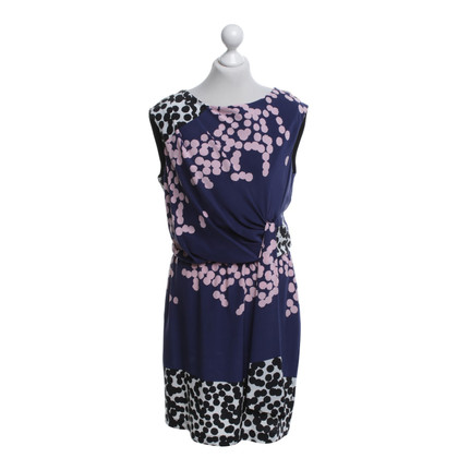 Diane von Furstenberg Dress in purple with pattern