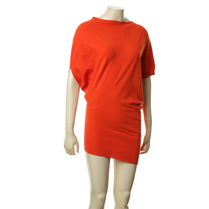 Blumarine Asymmetrisches Kleid in Orange