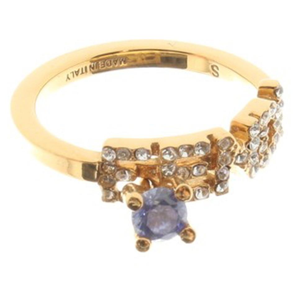 Fendi Goldfarbener Ring