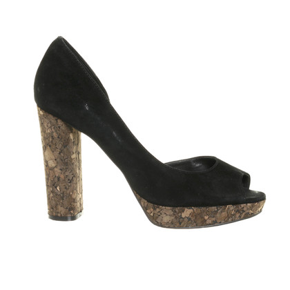Minelli Pelle scamosciata D ' Orsay-pumps