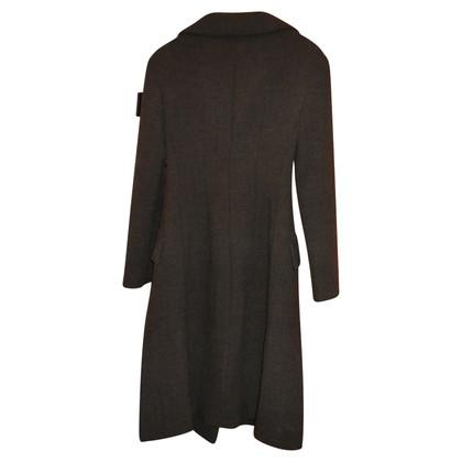 Prada Cappotto in lana marrone