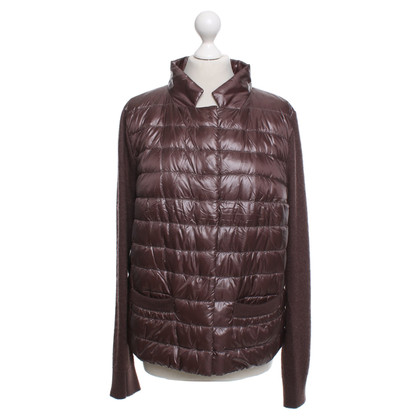 Herno  Quilted jacket in brown