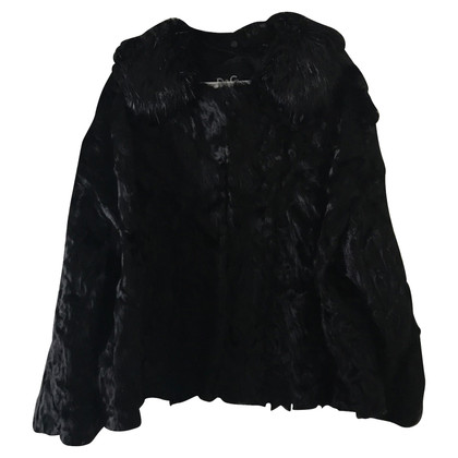 Dolce & Gabbana Lambskin jacket in black