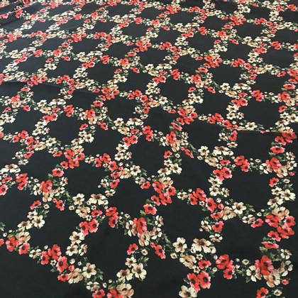 Dolce & Gabbana Sjaal Dolce & Gabbana zwart / bloemen