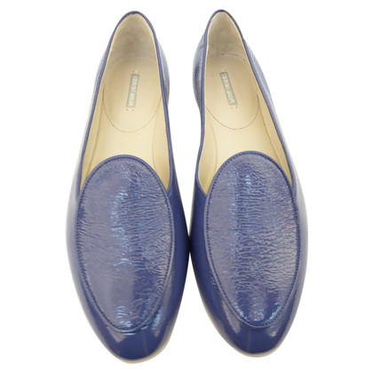 Giorgio Armani Slippers patent leather