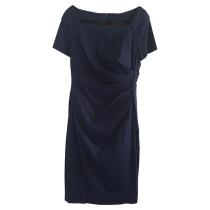 Talbot Runhof Dress in dark blue