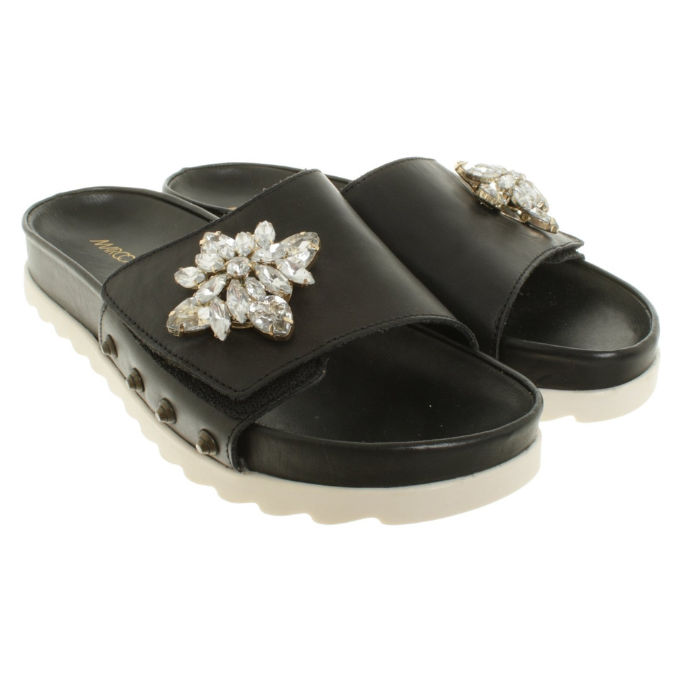 Marc Cain Sandals with gemstones