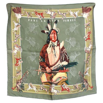 Hermès Zijden sjaal met motief