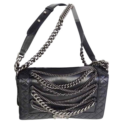 "Chanel ""Enchained Large Boy Bag"""