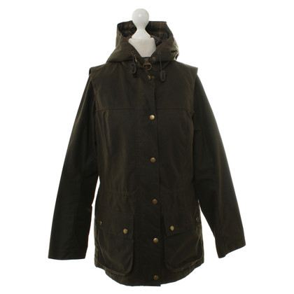 Barbour Winterjacke in Olivgrün