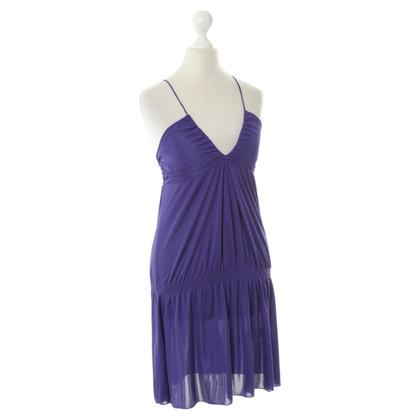 Patrizia Pepe Mini jurk in paars