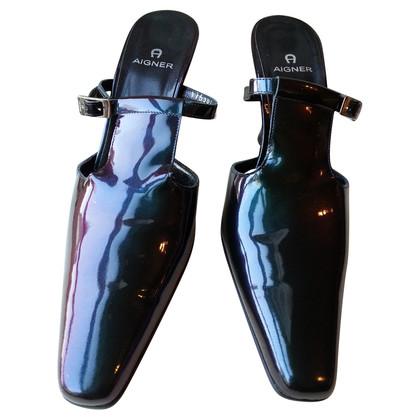 Aigner Patent leather Pumps