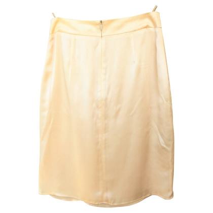 Hugo Boss Silk skirt with flounces