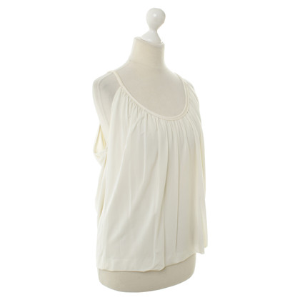 DKNY Top with Ruffles