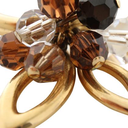 Swarovski Ring with gemstones