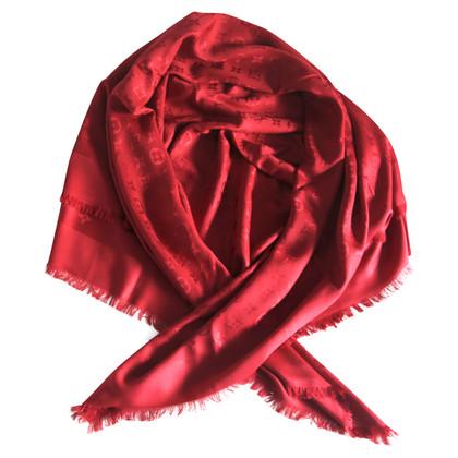 Louis Vuitton panno Monogram in rosso