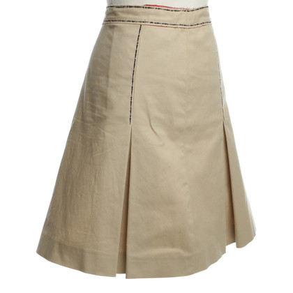 Moschino Cheap and Chic skirt beige