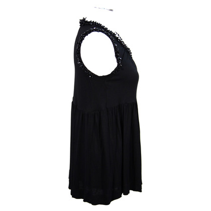 French Connection Top in Schwarz