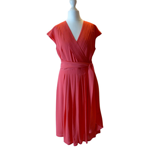 831147f7323 Max Mara Dress Silk in Red - Second Hand Max Mara Dress Silk in Red ...