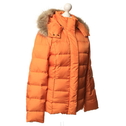 René Lezard Down jacket in Orange