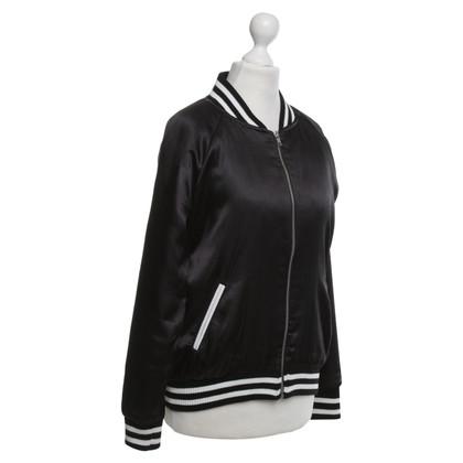 Zoe Karssen Bomber jacket made of satin
