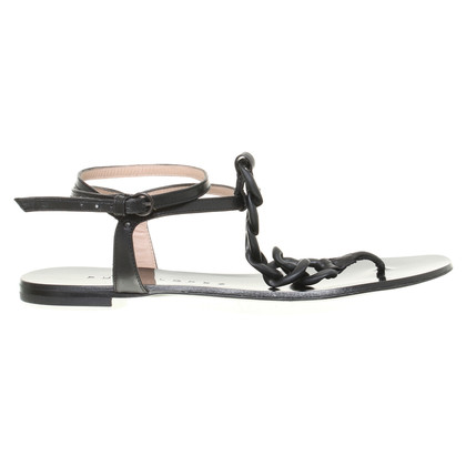 Pura Lopez Sandalen in zwart