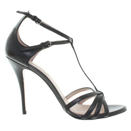 Pura Lopez Sandals in zwart