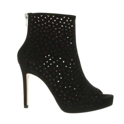 Pura Lopez Bottines avec perforations