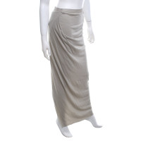 Rick Owens skirt in light gray