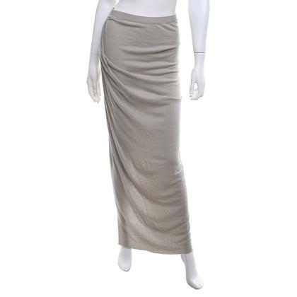 Rick Owens skirt in light gray