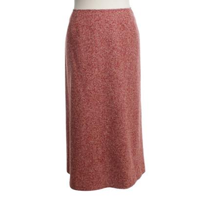 Max Mara skirt with herringbone pattern