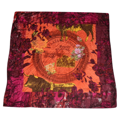 Christian Lacroix Silk scarf with print